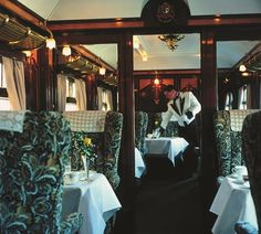 Ref: LON 1662. British steam train with original 1920's art deco carriages. Based in London SW1