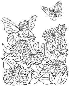 bloemen elfje