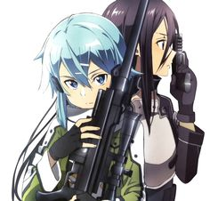 I can't wait for Gun Gale and everything and Sinon seems pretty cool but if she comes between Kirito and Asuna then there will be hell to pay