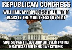 We must realize what the real problem is in Washington, Republicans.