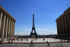 Pray for Paris by sbs  architecture blue clouds effel europe france paris sky summer tower travel sbs