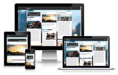 http://wpthemess.net/looki/ Looki is a great and clean free #WordPress theme, with a scrollable sidebar, optimized for the mobile devices.