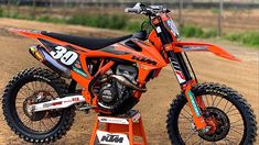 Every KTM racer wants to build the ultimate KTM — few will ever reach this level of perfection Motocross Ktm, Motocross Action, Ktm Supermoto, Ktm Dirt Bikes, Cool Dirt Bikes, Dirt Bicycle, Ktm 250 Exc, Ktm Exc, Nitro Circus