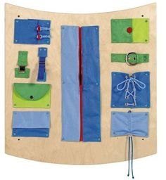 Learning & Sensory Wall Activity Dip B The Learning and Sensory Wall Activity Dip B promotes fine mo Interactive Walls, Interactive Learning, Kids Learning, Motor Activities, Sensory Activities, Toddler Activities, Time Activities, Sensory Wall, Sensory Boards