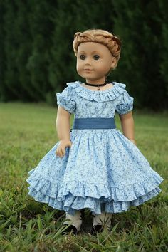 "Heritage doll fashions ""Summer in blue"""
