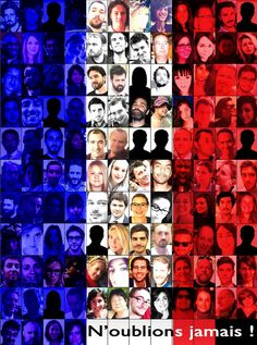 The victims of pairs attack Pray For France, Pray For Paris, Paris 13, Photo Wall, Thankful, Photos, Plus Jamais, Frame, November 13