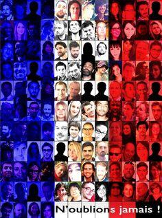 PARTAGE DE GENDARMERIE DE LOIR ET CHER........SUR FACEBOOK........VICTIMES DES ATTENTATS DE PARIS LE VENDREDI 13 NOVEMBRE 2015.......ILS S'APPELAIENT ROMAIN , DJAMILA , MARIE , VALENTIN.......UNISSONS NOS CŒURS ET ÉLEVONS NOS PRIÈRES POUR TOUTES LES ÂMES ET PERSONNES DES ATTENTATS A PARIS LE VENDREDI 13 NOVEMBRE 2015 AU SOIR............