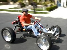 The Homebuilt Electric Z Kart Who Needs A Tesla Roadster