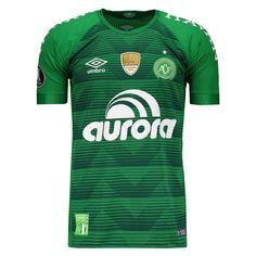 75e0ab64f Camisa Umbro Chapecoense I 2017 Patch Libertadores Somente na FutFanatics  você compra agora Camisa Umbro Chapecoense