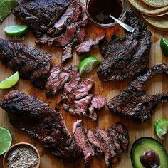 Check this absolutely stunning steak from the must follow on IG who took this pic: @julesfood -  Spicy Carne Asada hot off the grill w/Jacobsen Habanero salt avocado n' lime. Never made it to a tortilla... . . . #Grill #Grilling #BBQ #Barbecue #GrillPorn #FoodPorn #Beef #BeefPorn #Steak #SteakPorn #Food #Foodie #FoodPhotography #Foodstagram #InstaFood #Meat #MeatLover #MeatPorn #Paleo #GlutenFree #EEEEEATS #ForkYeah #CarneAsada #Habanero
