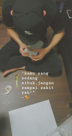 Save your healt Quotes Rindu, Story Quotes, Tumblr Quotes, Text Quotes, Mood Quotes, Motivational Quotes, Life Quotes, Simple Quotes, Cute Love Quotes
