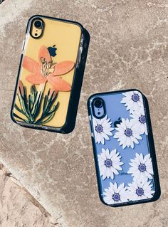 iphonewallpaper yellow Blue or Yellow Ready for iPhone XR with our Daylily and Purple Daisy Case for iPhone XR, iPhone XS / X, iPhone XS Max amp; iPhone 8 Plus from Elemental Cases - Cheap Iphone 7 Cases, Diy Iphone Case, Cute Phone Cases, Iphone Phone Cases, Iphone 6 Plus Case, Iphone Apple Watch, Tumblr Phone Case, Aesthetic Phone Case, Accessoires Iphone