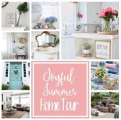 Joyful Summer home tour