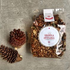 Granola Artesanal bolsa x 500 gramos. Especial de Navidad Cupcakes, Stuffed Mushrooms, Baking, Vegetables, Photography, Collection, Ideas, Food, Gourmet