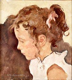 LOTTE LASERSTEIN - Portrait of a Girl
