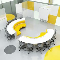 modular furniture If we take something like this and add computer docking and white boards / smart boards against the wall, it can be used for courses and for individual studying. Classroom Furniture, Library Furniture, School Furniture, Modular Furniture, Furniture Plans, Office Furniture, Furniture Design, Cheap Furniture, Furniture Cleaning