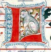 1490 cat illustration.