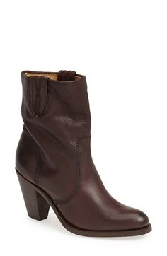 Frye 'Mustang Stitch' Short Boot (Women) available at #Nordstrom