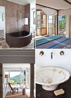 AN ARTIST'S HOME ON THE COSTA BRAVA IN SPAIN