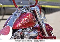custom paint motorcycle - Google Search