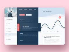 Admin Dashboard Web App by Tonia