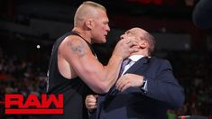 Brock Lesnar snaps and attacks Paul Heyman: Raw, July 2018 Wwe, Agenda Book, Paul Heyman, Kids Activity Books, Brock Lesnar, Wrestling News, Ronda Rousey, Sports