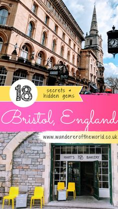Despite living in Bristol for many years, we're still discovering little known Bristol secrets and hidden gems, and thus, many more reasons to love Bristol. #bristol #england #travel #uk