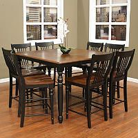 Ashby Counter Height Dining - 9 pc. - Sam's Club ... I want a new kitchen table :-) love this one