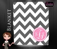 Blanket, Trendy, Monogrammed Blanket, Personalized Blanket, Custom Wedding Gift