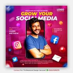 """Contact for """"Professional Design Service"""" +923411299279 (whatsapp) Creative concept social media instagram post for digital marketing promotion template Contact For #freepik #creative #food #restaurant #delivery #banner #post #template Social Media Banner, Social Media Design, Restaurant Delivery, Banner Online, Media Campaign, Creative Posters, Instagram Life, Graphic Design Posters, Creative Food"""