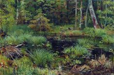 Spring in the forest  - Ivan Shishkin