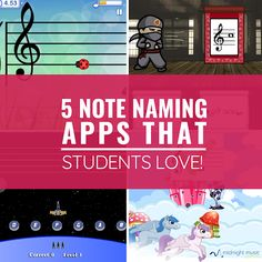 5 Note Naming Apps That Students Love! is part of Pitch Recognition Piano Keys - 5 of the best note naming apps What to consider There are lots of apps out there that will help students learn the notes of the staff, but I find myself Piano Lessons, Music Lessons, Piano Teaching, Learning Piano, Singing Lessons, Singing Tips, Learn Singing, Technology Lessons, Music Lesson Plans