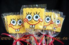 Spongebob Cookies