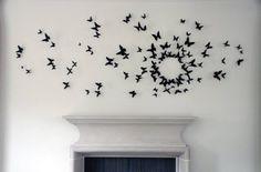 butterfly wall art!