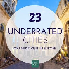 23 Overlooked European Cities You Must Visit In Your Lifetime #travel #budget