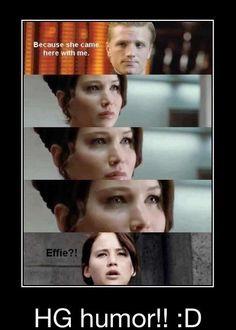 Haahahahahahahaha oh my gosh. is effie + Peeta shippable? nahh.. that is gross