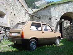 OG | 1980 Fiat Panda | Full-size mock-up