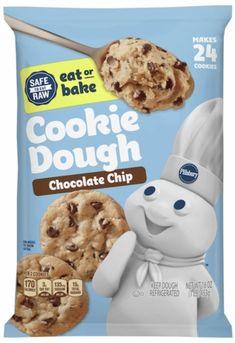 No Bake Cookies, Cookie Dough, Chips, Chocolate, Baking, Eat, Breakfast, Food, Morning Coffee