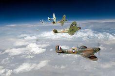 Supermarine Spitfires 602's finest hour ~ BFD