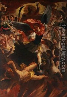 Antonio Maria Viani:The Archangel Michael Vanquishing the Devil
