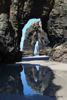 PLAYA LAS CATEDRALES - SPAIN
