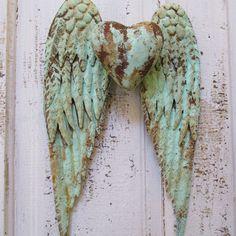 Metal wings sculpture by Anita Spero Design www.anitasperodesign.com