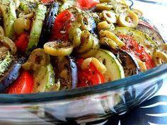 Salada de forno super prática