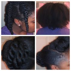 Easy protective style for natural hair - ClassyCurlies