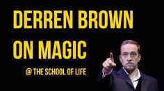 Derren Brown  with Alain de Botton on Magic psychology - philosophy - happiness - success - failure - suggestion - placebo - self-narratives
