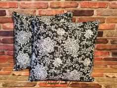 Check out this item in my Etsy shop https://www.etsy.com/listing/502078159/black-decorative-throw-pillows