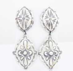 These earrings literally will accent any outfit in classic southwestern style.