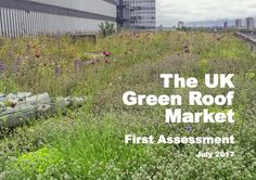 The first UK green roof market report has been published. The report outlines the value of the market and where the industry is currently focused,