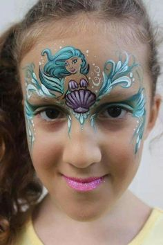 Love this idea as one of my girls adores mermaids, but I would maybe have the tail coming down on one side