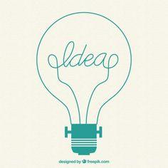 Ampoule Creative Vecteur gratuit
